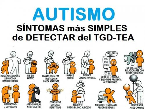 sintomas simples para detectar TEA